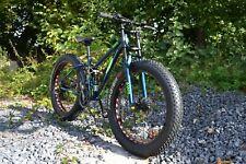 26 Zoll AWS Fat Tire Bike Mountainbike Fatbike Fahrrad Vollfederung 21 Gang