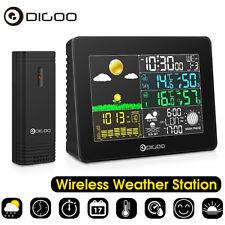 Digoo USB Wireless Weather Station Hygrometer Thermometer Barometer Sensor Clock