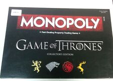 Game of Thrones Edition Monopoly Official Licensed  Collector's Edition#399