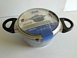 ELO Black Vision - Fleischtopf 16cm ca.1,4L (für alle Herdarten/auch Induktion)