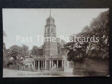 Warwickshire RUGBY SCHOOL Temple Speech Room - Old Postcard by E.T.W. Dennis
