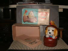YONEZAWA BATTERY OPERATED, 100% FULLY FUNCTIONAL, PLAYFUL PUP IN SHOE W/BOX!