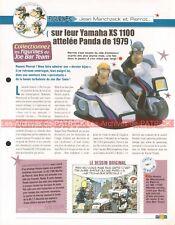 YAMAHA XS 1100 + Side-Car Panda 1979 Joe Bar Team Fiche Moto #008564