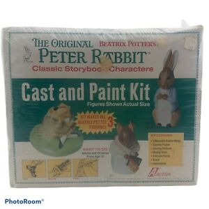 Vintage Peter Rabbit Cast and Paint Kit Very Rare 1975 Activa