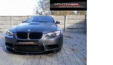 carbon Spoilerlippe für BMW M3 3er E92 E93 Coupe Cabrio Schwert Frontansatz