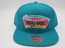 San Antonio Spurs Retro Jordan 8 Mitchell & Ness NBA Throwback Snapback Hat Cap