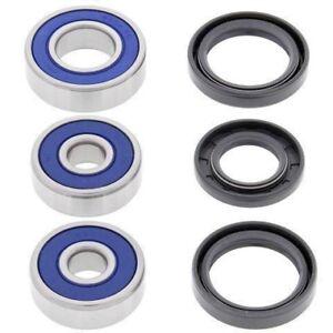 Yamaha RT100 1990-2000 Rear Wheel Bearings And Seals