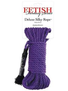 Fetish Fantasy Series Deluxe Silky Rope - Purple