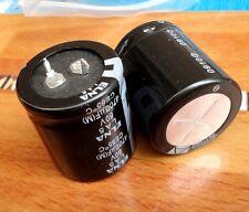 2pcs Japan ELNA LA5 4700UF 80V Audio Capacitor 30x35mm CE 85℃ #E115 YX