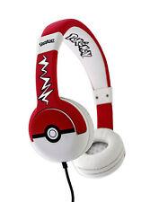 POKEMON Children's Headphones - Pokeball design - 1st Class Delivery