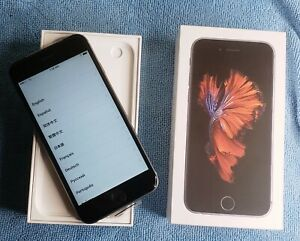 Apple iPhone 6s - 32GB - Space Gray (Unlocked) A1688 (CDMA + GSM) New Smartphone