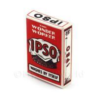 Miniatura Para Casa De Muñecas IPSO Detergente En Polvo Caja