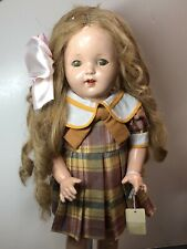 """20� Vintage Antique Effanbee Doll Co. """"Mary Ann� 1928 Compo Blonde Curls Sweet S"""