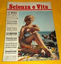 SCIENZA E VITA - N. 114 Luglio 1958 - Le Insidie della Tintarella