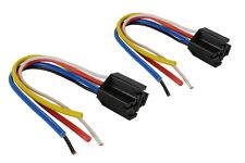 2 Lot Temco 12 V 30 40 Amp Bosch Style S Relay Harness Socket Spdt Automotive
