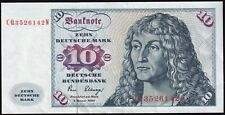 1980 | Germany Federal Republic 10 Deutsche Mark Banknote | Banknotes | KM Coins