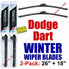 WINTER Wiper Blades 2-Pack Premium - fit 2013-2016 Dodge Dart - 35260/180