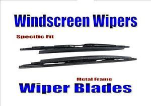 Wiper Blades Windscreen Wipers For Bmw 7 Series E65 E66 E67 2001-2008