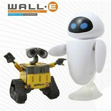 2pcs Wall E & Eee-vah Eve Action Figure Kid Display Figurines Set Toy Collection