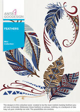 Anita Goodesign Feathers Embroidery Machine Design Cd New