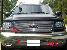 Fits 1999-2003 Ford F-150 4WD Billet Grille Combo
