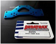Vintage RC Car Duratrax DTXC9191 Front Blue Aluminum Shock Tower Nitro Demon NEW