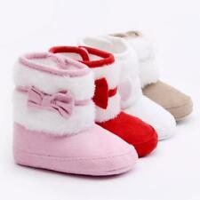Baby Shoes Girl Boy Anti-Slip Snow Boots Toddler Booties 0-6 7-12 13-18 Months