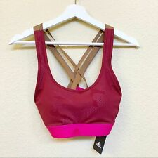 ADIDAS NWT Strappy Back Padded Sports Bra SMALL