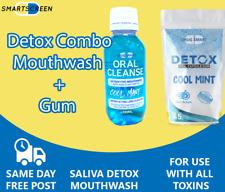 Detox Mouthwash & Gum Combo - Remove Toxins, Drugs etc.