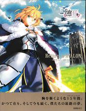 Fate Stay Night Return to Avalon Takashi Takeuchi Art Book 15 Annivesary Project