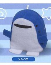 Samezu 2'' Jinbe Plush Shark Phone Strap Anime Manga NEW