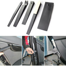 5x Car Plastic Pry Tool PDR Wedge Kit Auto Moulding Covering Clip Remover Trim