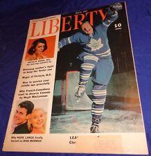 BR1579 Vtg 1962 Liberty Eddie Shack Clown Prince Of Hockey Why French Canadians