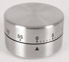 Magnet Fackleman 60 Minute Stainless Steel Kitchen Cooking  Baking & Egg Timer