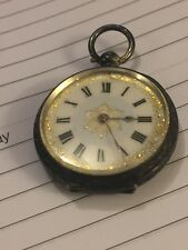 Vintage Solid Sterling Silver Ladies key fob watch