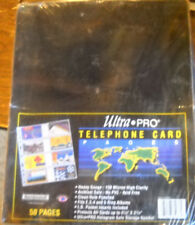 SEALED BOX ULTRA PRO TELEPHONE CARD PAGES 50 SEALED