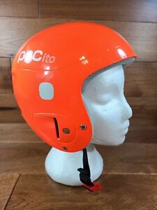 POC - POCito Skull Youth Kids Ski Helmet Fluorescent Orange- XS/S -  51-54 CM