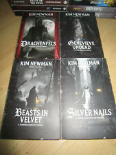 Kim Newman VAMPIRE GENEVIEVE QUADRILOGY 1stPB MINT Warhammer Horror