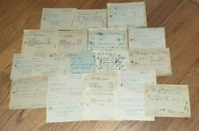 20 Original 1920's Nebraska Rx's Prescriptions Narcotics Morphine Heroin Cocaine