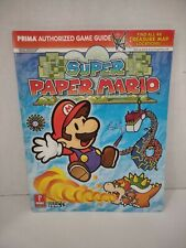 Prima Official Game Guides Super Paper Mario Prima Official Game Guide