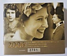 2006 5 Sterline in oro proof Cinque sterline Ottantesimo Compleanno COA solo