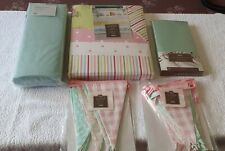 Single Duvet Set with bunting.