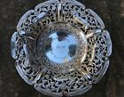 ANTIQUE ANGLO INDIAN BOMBAY SILVER CARD TRAY OR BOWL  LUCKNOW  1910  126 gms