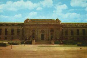 Vintage Postcard Main Entrance To Bancroft Hall US Naval Academy Annapolis MD
