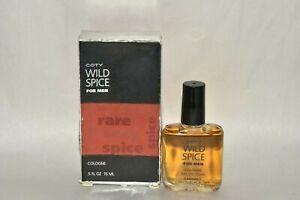 NIB Coty WILD SPICE for Men cologne .5 oz