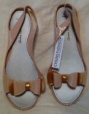 Women's Light Taupe Rubber / Jelly Fashion Sandals Size 9N