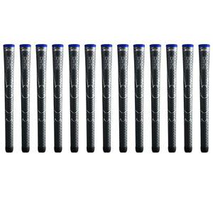 """Winn Dri-Tac Midsize (+1/16"""") Dark Gray DriTac - 13 Pieces Golf Grips  - NEW!!"""