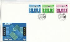 Jersey 1984 Europa FDC with enclosure Unaddressed VGC