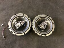 USED BOSS NX524 6x9 300W 4-Way Car Audio Coaxial Speakers Stereo Black 4 Ohm
