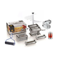 Marcato Multipast Set Set Sheeter +9 Accessories, Engine Pasta Maker